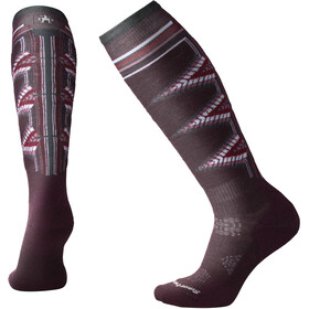 Smartwool PhD Ski Light Pattern Socks Women Bordeaux